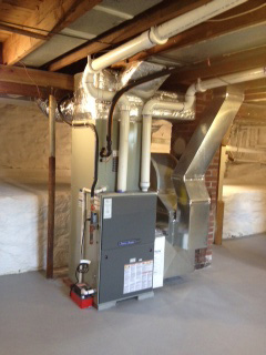 New furnace installed in Madison