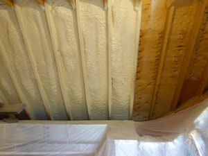 Spray Foam Insulation Installed In Short Hills